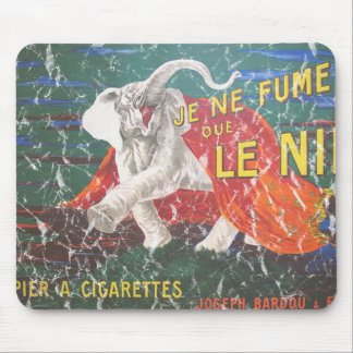 Elephant cigarettes-1900 - distressed mouse pad