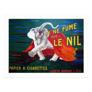 Elephant cigarettes-1900 postcard