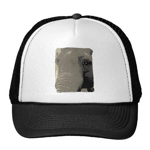 Elephant Closeup Trucker Hat