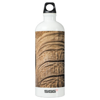 Elephant Closeup Water Bottle