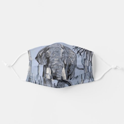 Elephant Cloth Face Mask