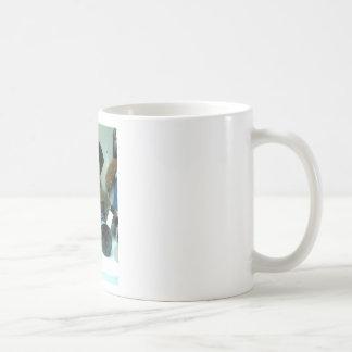 Elephant Coyboy Doll Products Classic White Coffee Mug