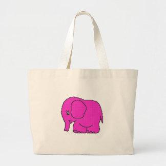 elephant_crossPINK ai Bolsas