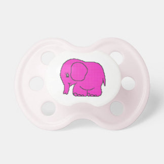 elephant_crossPINK.ai Pacifier
