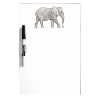 Elephant cut dry erase board
