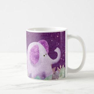 Elephant daisy chain - mug
