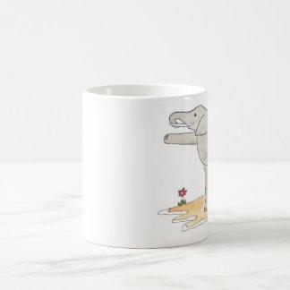 Elephant Dancer's yoga pose Mugs