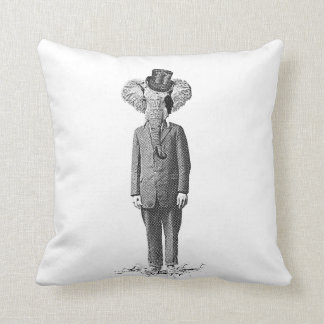 Elephant dandy pillow