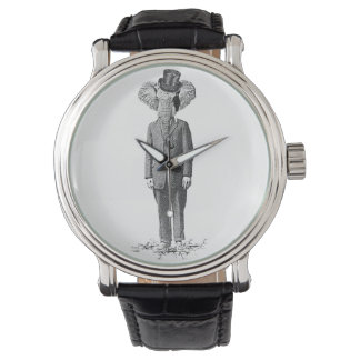 Elephant dandy wrist watch