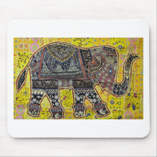 ELEPHANT DESIGN BY INDIAN NOMADIC TRIBE MOUSE PAD