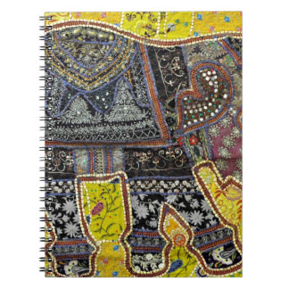 ELEPHANT DESIGN BY INDIAN NOMADIC TRIBE NOTE BOOK