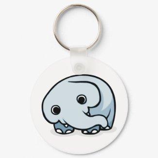 Elephant Design keychain