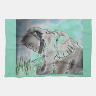 Elephant Design Place mat Towels