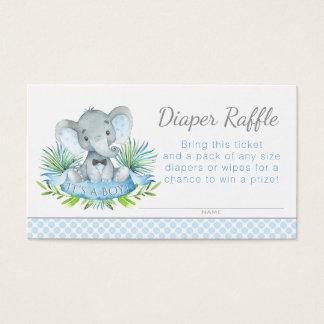 Elephant Diaper Raffle Tickets