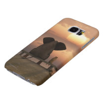 Elephant & Dog Friends Samsung Galaxy S6 Cases
