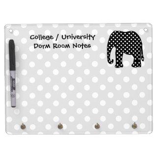 Elephant Dorm Room Notes Dry Erase Whiteboards