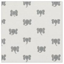 Elephant Dots Fabric