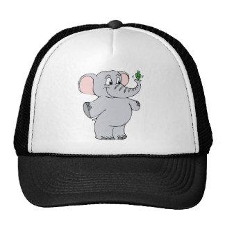 Elephant Dreidel Trucker Hat