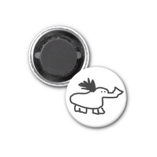 Elephant Duck Magnet