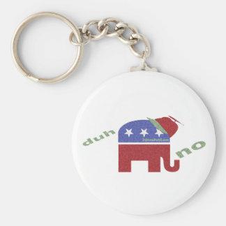 ELEPHANT Duh... NO Key Chain