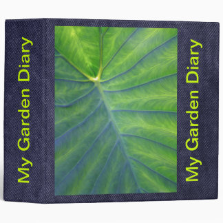 Elephant Ears - Colocasia 3 Ring Binder