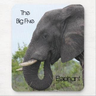 Elephant Eating Mouse Pad