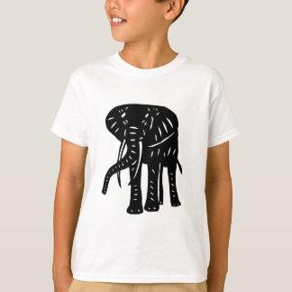 Elephant elephant cutting picture elephant goods T-Shirt