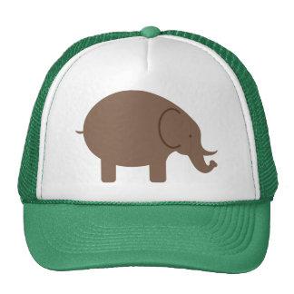 Elephant Elephants Pachyderm Cute Cartoon Animal Trucker Hat