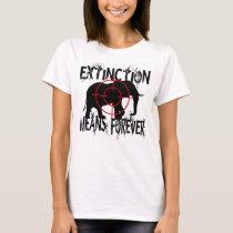 Elephant Extinction1 T-Shirt