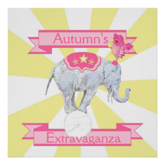 Elephant  Extravaganza Poster