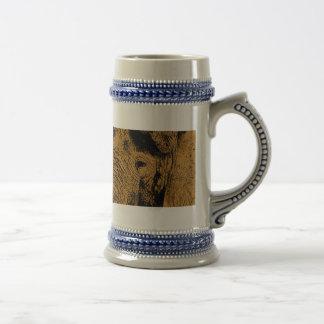 Elephant Eye Beer Stein
