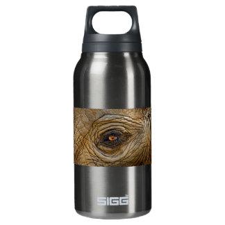 Elephant Eye Close-Up Insulated Water Bottle