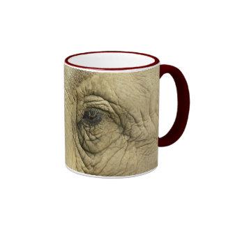 Elephant Eye Closeup Mug
