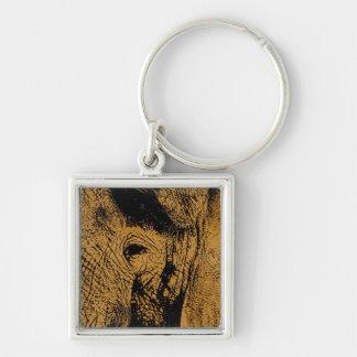 Elephant Eye Keychain