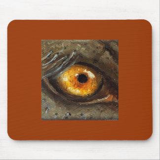 Elephant Eye Mouse Pad