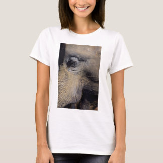 Elephant face closeup T-Shirt