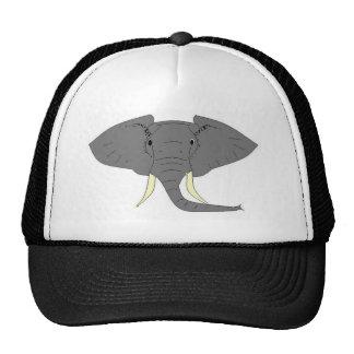 Elephant Face Trucker Hat