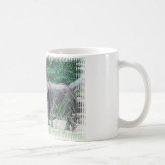 elephant-family-2 taza básica blanca