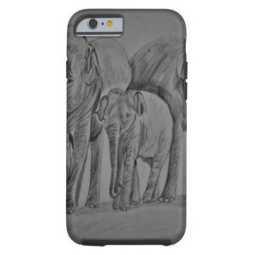 Elephant family tough iPhone 6 case
