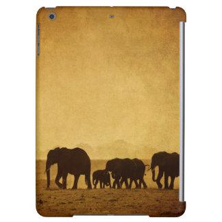 Elephant Family Cover For iPad Air