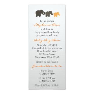 Elephant Family Invitation