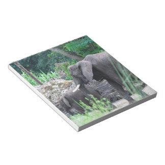Elephant Family Notepad