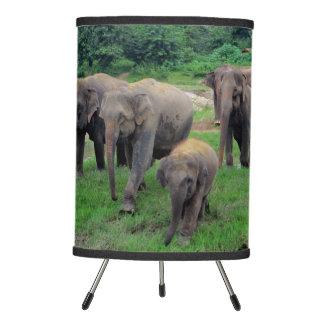 Elephant family table lamp