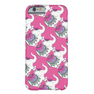 Elephant Fancy with Changeable Background Color Barely There iPhone 6 Case