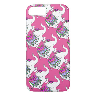 Elephant Fancy with Changeable Background Color iPhone 8/7 Case