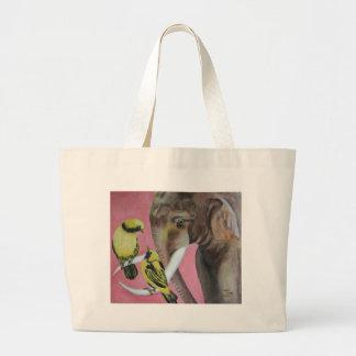 elephant fantasy2 jumbo tote bag