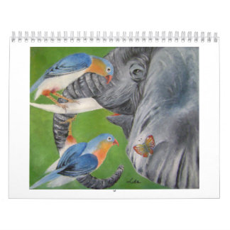elephant fantasy 1 calendar