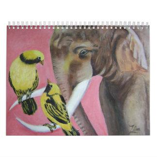 elephant fantasy 2 calendar