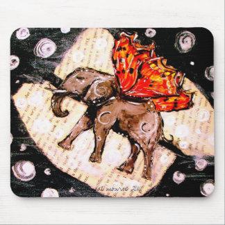 Elephant Fly Mousepads