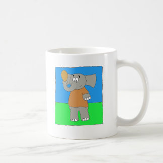 Elephant Football Nose Coffee Mug